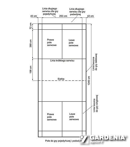 Dimensions Of Badminton Field Gardenia Sport We Build Sport Objects