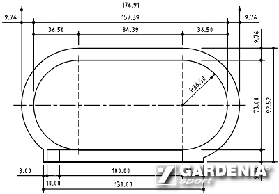 Track And Field Dimensions